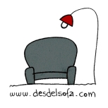 logo DESDELSOFA-all rights reserved
